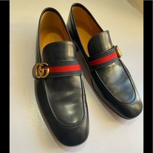 Gucci men shoe size 11.5 dark navy made in Italy